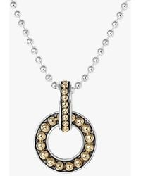 Lagos 'Enso' Pendant Necklace - Lyst