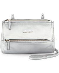 Givenchy Pandora Mini Leather Crossbody Bag - Lyst