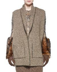 Ralph Lauren Collection - Cashmere Melange Scarf W/pockets - Lyst