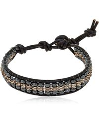 Colana - Hematite Bracelet - Lyst