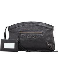 Balenciaga Classic Premier Clutch Bag Black - Lyst