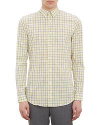 Jil Sander Check Slim Baia Shirt - Lyst