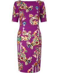 Mary Katrantzou Harlie Ss Dress Fleur Repeat - Lyst