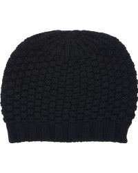 Barneys New York Popcorn-knit Hat - Lyst