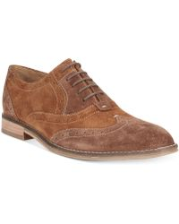 Hush Puppies® Style Brogue Wing-tip Oxfords - Lyst