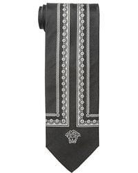 Versace Tie - Lyst