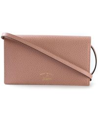 Gucci 'Swing' Wallet With A Shoulder Strap - Lyst
