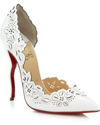 Christian Louboutin | Beloved Cut-Out Half D'Orsay Pumps | Lyst