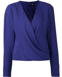 J. Mendel Loose Fit Blouse - Lyst