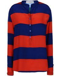 Stella McCartney Blue Eva Shirt - Lyst
