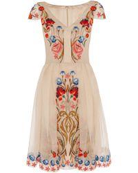 Temperley London Mini Toledo Dress - Lyst