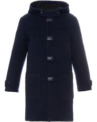Christopher Kane - Wool And Alpaca-blend Duffle Coat - Lyst