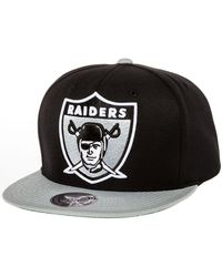 Mitchell & Ness The Oakland Raiders Xl 2 Tone Snapback - Lyst