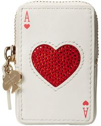 Kate Spade Place Your Bets Playing Cards Coin Purse - Lyst