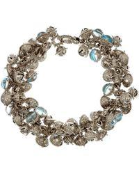 Paul Morelli - Silver Bell Cluster Bracelet - Lyst