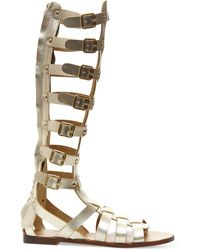 532dcfae7dc6 Madden Girl Penna Gladiator Sandals ~ Knee High Sandals