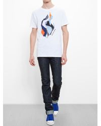 Carven Abstract Motif T-Shirt - Lyst