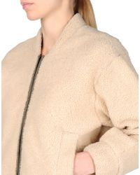 Reed Krakoff Leather Outerwear - Lyst