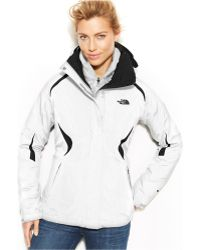 The North Face Hooded Boundary Triclimate Waterproof Zip-up Jacket - Lyst