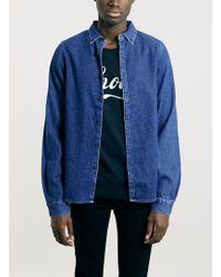 Villain - Blue Denim Jacket* - Lyst