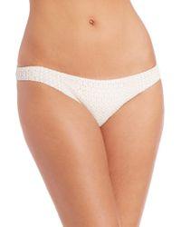Shoshanna | Daisy Eyelet Bikini Bottom | Lyst