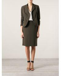 Prada - All Designer Products - Skirt Suit - Lyst
