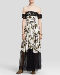 Free People Maxi Dress - Hibiscus Printed - Lyst