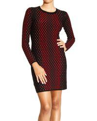 M Missoni Dress Long Sleeve Mesh Multicolor - Lyst