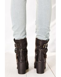 Jeffrey Campbell Double Buckle Boot - Lyst