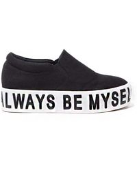 Pixie Market - Be Myself Platform Sneakers - Lyst