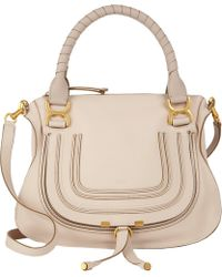 Chloé Medium Marcie Satchel - Lyst