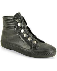 Ash Vespa - Leather High Top Sneaker - Lyst