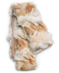 Michael Kors Coyote Fur Scarf - Lyst