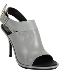 Balenciaga Glove Curve Slingback Sandals - Lyst