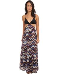 Vitamin A Valentina Maxi Cover-Up - Lyst