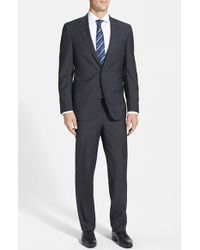 Samuelsohn Classic Fit Wool & Mohair Suit - Lyst