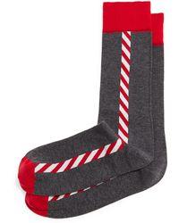 Jonathan Adler - Santas Pole Knit Socks - Lyst