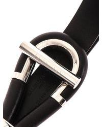 Balenciaga Leather Toggle Belt - Lyst