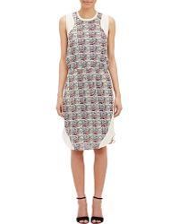 Sea Silk Sleeveless Dress multicolor - Lyst
