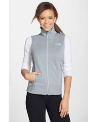 The North Face 'Canyonwall' Hardface Fleece Vest - Lyst