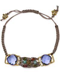 Coralia Leets Macrame Bracelet - Lyst