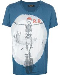 Rude Riders - Print Tshirt - Lyst