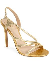 Vince Camuto 'Tiernan' Strappy Leather Sandal - Lyst