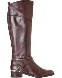 Ivanka Trump Brown Orabell Riding Boots - Lyst