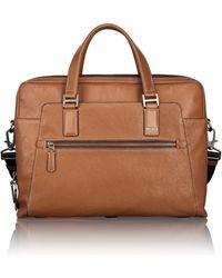 Tumi Vernon Leather Briefcase - Lyst