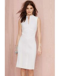 Nasty Gal Cameo The Throw Mesh Dress - Lyst