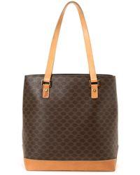 celine luggage phantom suede tote bag in light brown