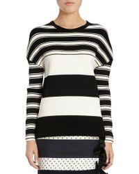 Emanuel Ungaro Striped Sweater - Lyst