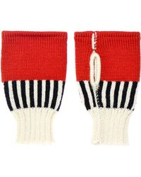 Margot & Me - Short Fingerless Mittens Katie - Lyst