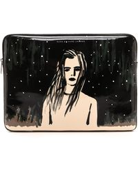 Marc By Marc Jacobs Astronauts Laptop Zip Case - Dreamy Rhea - Lyst